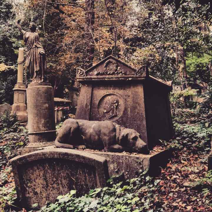 An Autumn Visit to West Highgate Cemetery in North London
